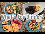What's For Dinner Easter Sunday, Taco Salad &amp Hot Fudge Cake Sundae's!