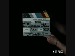 Начало съемок сериала