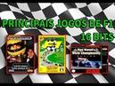 Principais Jogos de F1 (16 bits)