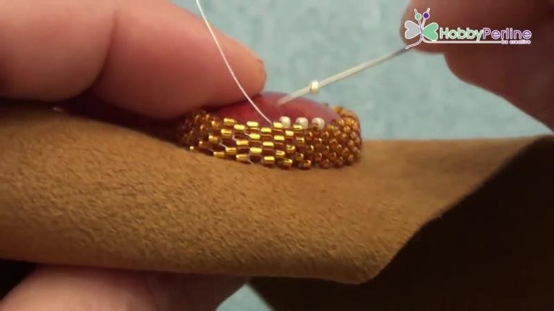 Incastonatura Embroidery _ Tecnica - HobbyPerline