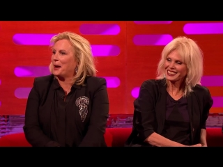 Jennifer Saunders and Joanna Lumleys  - The Graham Norton Show - BBC One