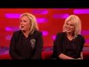 Jennifer Saunders and Joanna Lumleys - The Graham Norton Show - BBC One