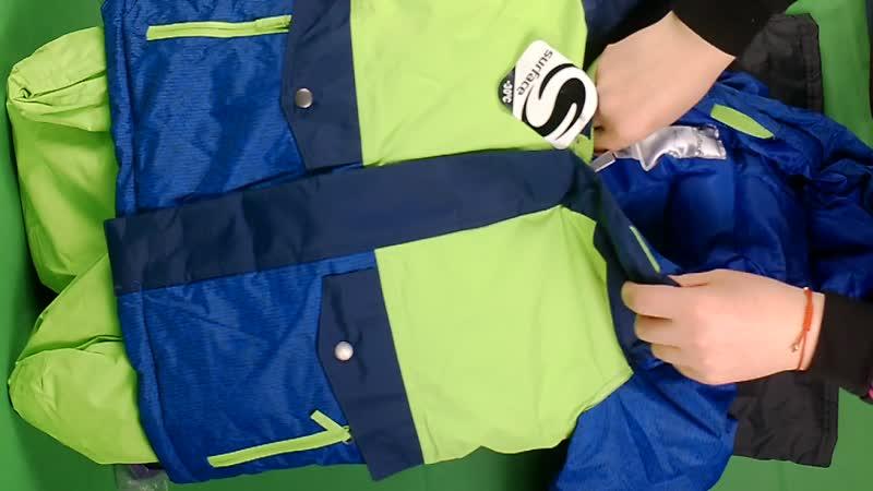 Детские комбезы сток зима ( 7,2 кг, 2500 руб кг, 6 комплектов)