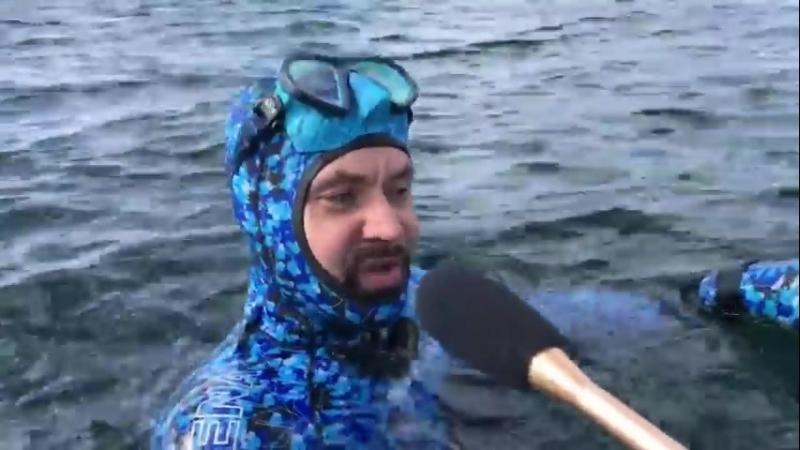 Александр Семенов испытал новые лопасти Scorpena carbon