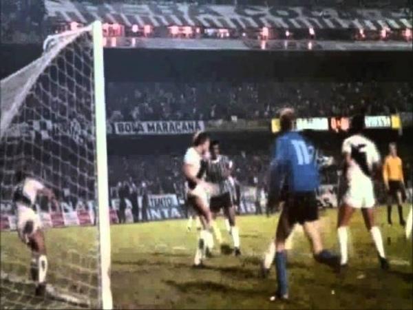 Gol de Basílio 1977 com narração de Osmar Santos