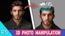 Photoshop Tutorial 'Water Head' Manipulation