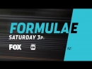 The @formulaelectro (ABB FORMULA-E |TE|) FIAFormulaE NYCEPrix begins Saturday on FOX.