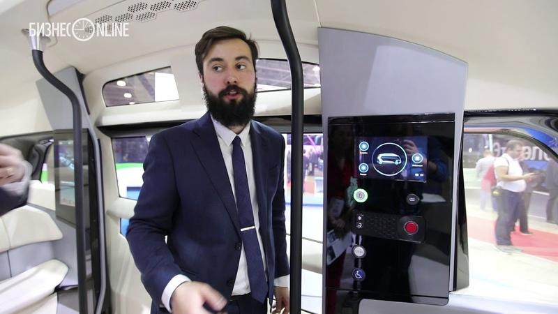КАМАЗ презентовал ШАТЛ на международном автобусном салоне в Москве