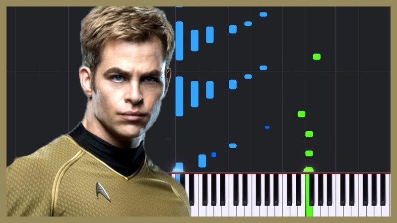 London Calling - Star Trek Into Darkness [Piano Tutorial] (Synthesia) Logan Dougherty