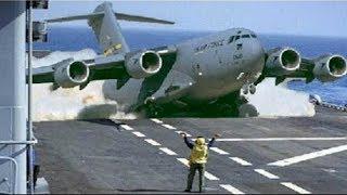 Força Aérea dos Estados Unidos com o seu Gigantesco C-17 Globemaster III