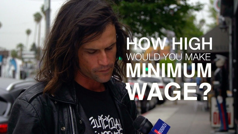 How High Would You Make the Minimum Wage We Asked L.A. Residents.
