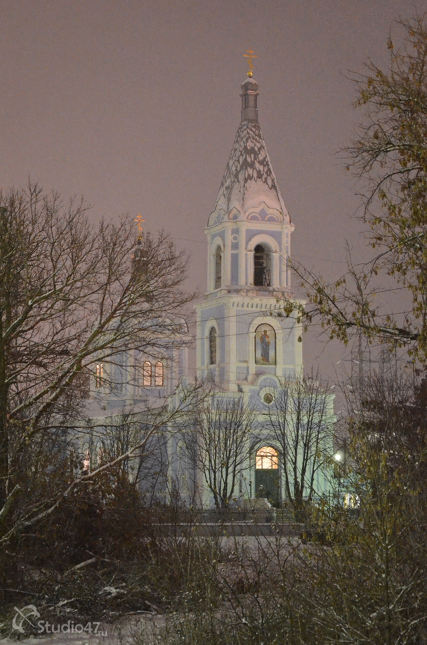Знаменский храм в Борисоглебске