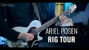 Ariel Posen live rig tour (guitars, amps, pedalboard)
