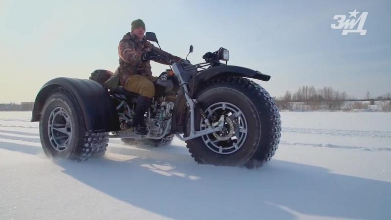 Снегоболотоход Бархан