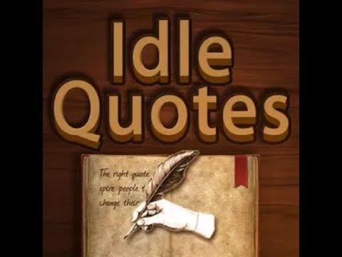 Прохождение игры Idle Quotes