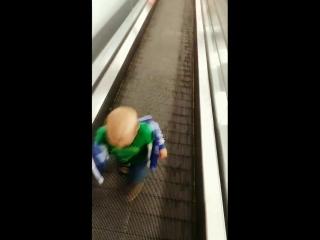 Миша против эскалатора) Бинго Бонго