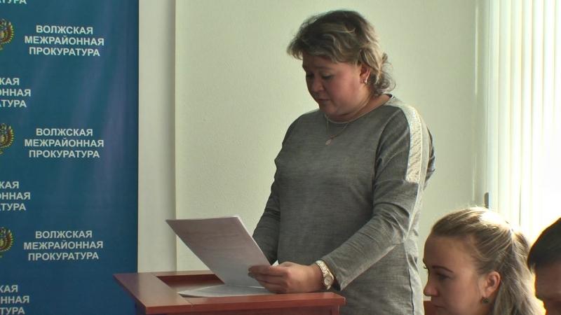 Координационное совещание правоохранительных органов в прокуратуре г.Волжск