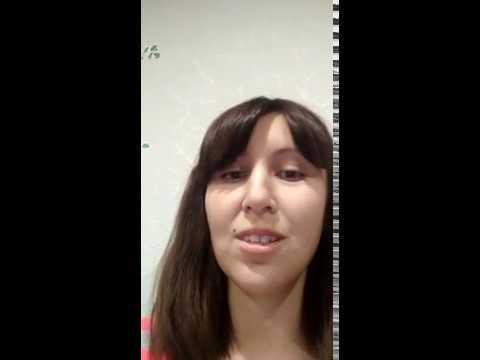 Видеоотзыв на тренинг Аделя Гадельшина от Сысоевой Василины