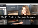 Convert Cabinet Shelves into Pull Out Drawers