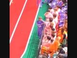 фанкам 190107 Хёнджин, Хан и THE BOYZ @ MBC 2019 Lunar New Year Idol Star Athletics Championship