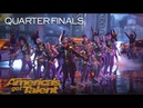 Da Republik: Dominican Republic Dance Crew Stuns With Incredible Flips - America's Got Talent 2018