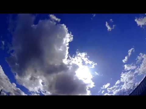 Облака таймлапс 4к sony hdr as50. 2 кадра в секунду.
