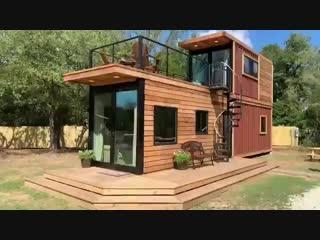 Хотели бы себе такой компактный дачный домик