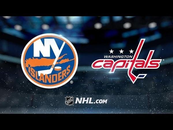 New York Islanders vs Washington Capitals   Jan.18, 2019