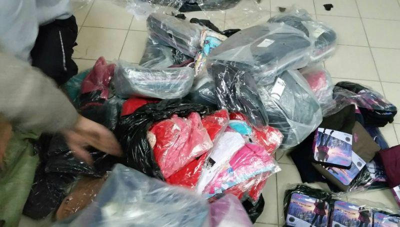 Перевозка украинцем в Крым одежды была сорвана