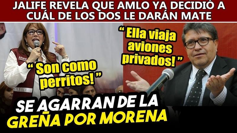 Yeidckol y Monreal se dan con todo por Morena. Jalife revela que Obrador ya decidió quién no llegará