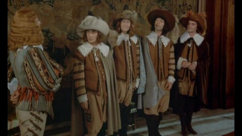 Четверо Против Кардинала_Les Charlots en folie A nous quatre Cardinal_(1974)