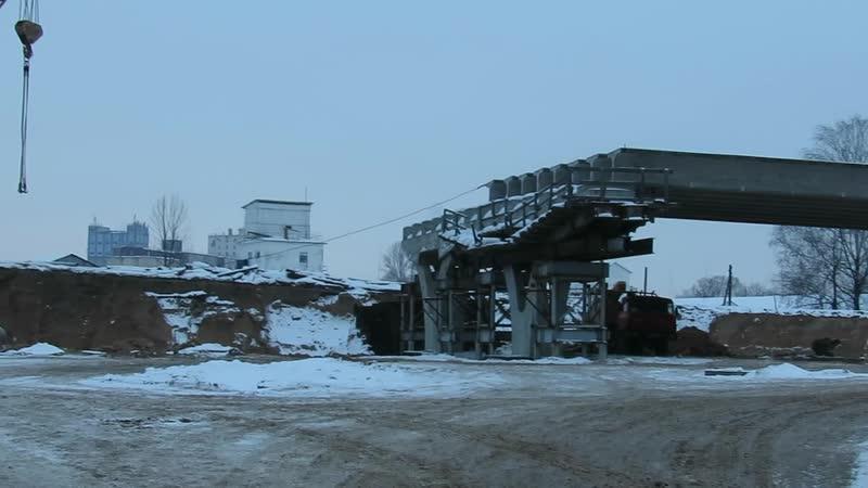 Что сейчас происходит на стройплощадке Полоцкого путепровода. репортаж «Витебского курьера»