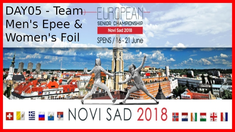 European Championships 2018 Novi Sad Day05 - Main Feed With Commentary