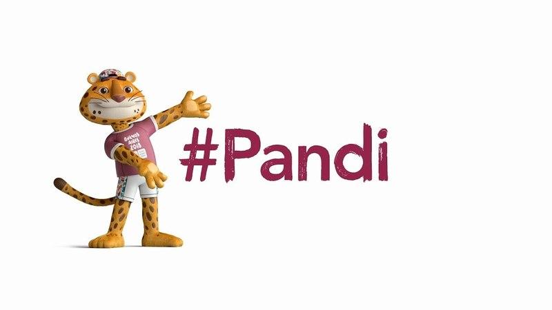 Pandi, la mascota de Buenos Aires 2018