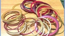 Best out of waste using waste old bangles Waste material craft idea Easy craft idea