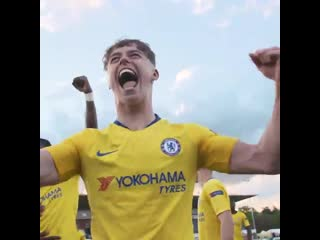 SCENES. - - Through after beating Barcelona on penalties... And I think CFCU19 might have enjoyed that win!