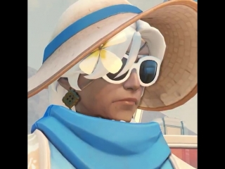 Stay cool in the shade with CABANA ANA Legendary! ️ - - Join us in Busan for Summer Games,