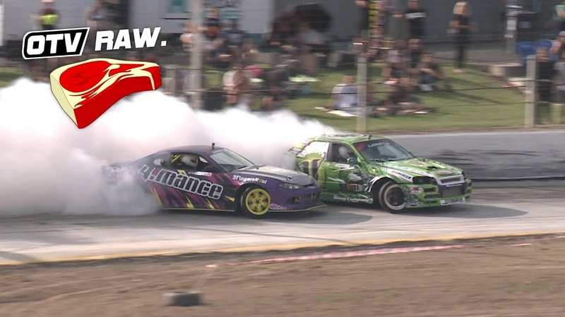 OTV RAW: Cole Armstrong VS Matty Hill - D1NZ Drifting R1 Wellington 2018
