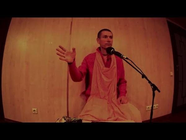 E С Ананда Вардхана Свами Лекция по Санкиртане Молитвы за других 06 12 2018
