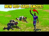 NEW RED CARD EMOTE BEST PLAYS! - Fortnite Funny Fails and WTF Moments! #228 (Daily Moments)