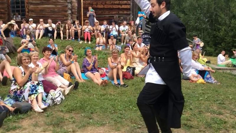 GORDA грузинский мужской хор на KAMWA 2018