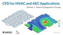 CFD Simulation for HVAC and AEC with Rhino Pollutant and Smoke Management