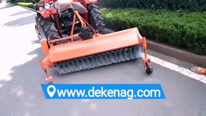 Tractor mounted sweeper made in China