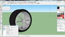 Google SketchUp 'Tutorial' - Einen einfachen Reifen erstellen [FULL HD]