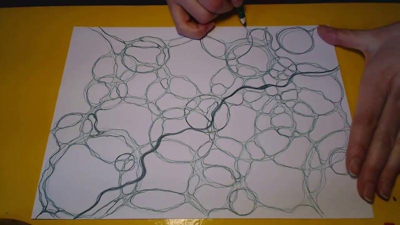 Нейрографика - как найти линию в пространстве
