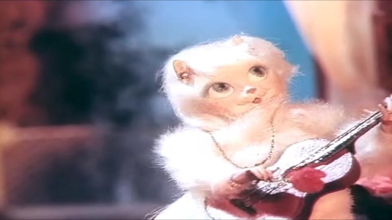 Кошкин дом (1982) Кукольный мультфильм | Золотая коллекция