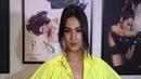 Sonal Chauhan's Shirt Buttons Open