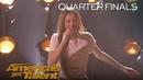 Courtney Hadwin: Teen Powerhouse Sings Papa's Got A Brand New Bag - America's Got Talent 2018