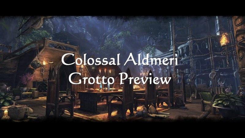 ESO Fashion - Colossal Aldmeri Grotto Preview