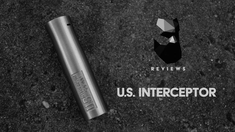 U.S. INTERCEPTOR 20700 Mechanical Mod by TRINITY GLASS HARDWARE Review